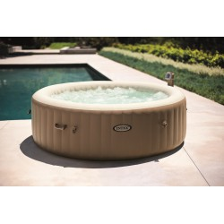 Piscina jacuzzi gonflabil Intex PureSpa Bubble Massage 28408