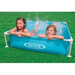 Piscina copii Intex MINI FRAME™ POOL BLUE