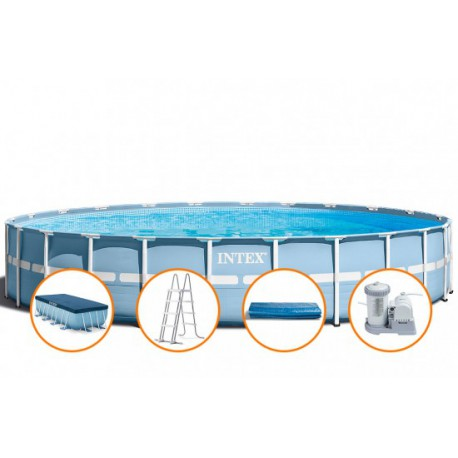 Piscina Intex Prism Frame 732x132cm
