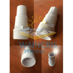 Niplu conic din ABS cu filet exterior 1 1/2""