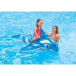 Jucarie gonflabila balena Intex LIL' WHALE RIDE-ON