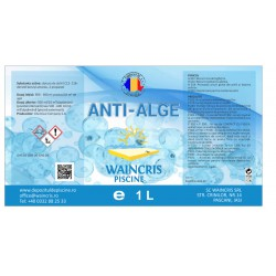 Anti-alge Waincris Piscine 1 litru