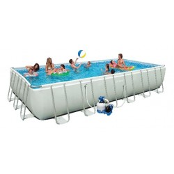 Piscina Intex Ultra Frame 732 x 366 x 132cm