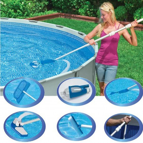 Kit intretinere piscina INTEX Deluxe