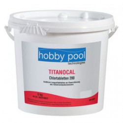 Clor tablete(pastile) cu dizolvare lenta Titanocal Hobby Pool Germania 5kg