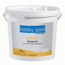 Corector pH Minus granule 8kg Hobby Pool Germania