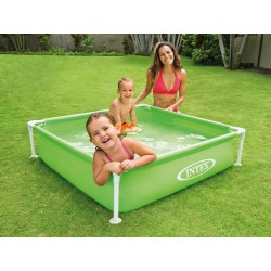 Piscina copii Intex MINI FRAME™ POOL GREEN
