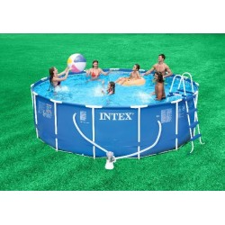 Piscina Intex Metal Frame 457x107 cm