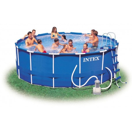 Piscina Intex Metal Frame 457x122 cm