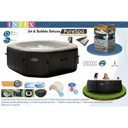 Piscina jacuzzi gonflabil Intex Jet & Bubble Deluxe 28456