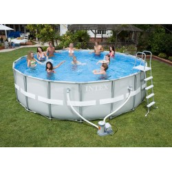 Piscina Intex Ultra Frame 488x122 cm