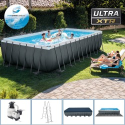Piscina INTEX ULTRA XTR RECTANGULAR FRAME 732 X 366 X 132cm