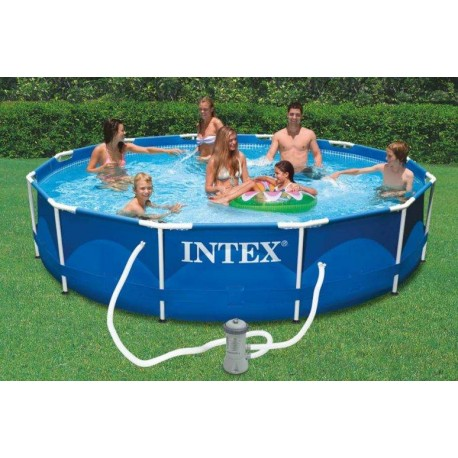 Piscina Intex Metal Frame 366 x 76cm