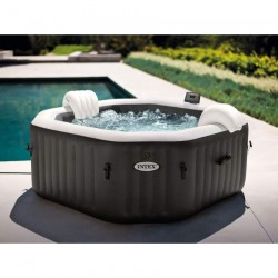 Piscina jacuzzi gonflabil Intex Jet & Bubble Deluxe 6 persoane 28462